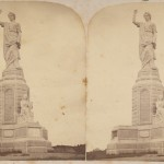 Forefather's Monument - Stereoview - Incomplete