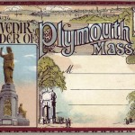 Souvenir Folder of Plymouth Mass