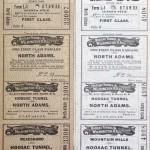 Hoosac Tunnel & Wilmington Ticket 1921