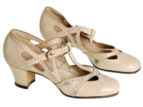 Beautiful Womens 1920s And 1930s Fashion Shoe Styles