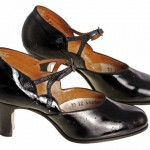 1920s Black Heels - Women's Shoe
