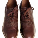 1920s Brown Leather Oxfords Mens Shoes