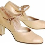 1920s Peach-Beige Woman's Shoe