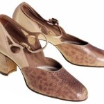 1920s Snakeskin Women's Shoe