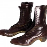 Brown Victorian Leather Women's Boot