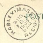 Hadley 1906 Rec'd