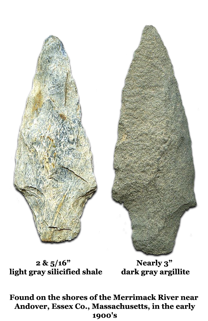 Andover Two Arrowheads Massachusetts History Preserved