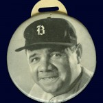 Babe Ruth - 1935 Scorer Pin - Quaker Oats