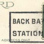 Boston - Back Bay Station 1924