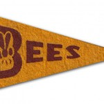 Boston Bee's - 1936 - Mini Pennant