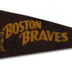 Boston Braves - 1940s - Mini Pennant