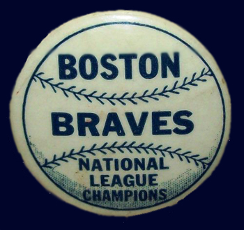 Boston Braves - 1948 - NL Champs Pin