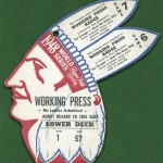 Boston Braves - 1948 World Series Press Pass