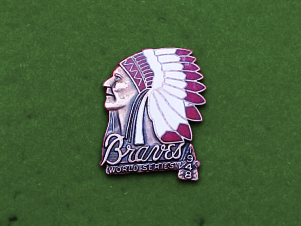 Boston Braves - 1948 World Series Press Pin