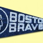 Boston Braves - 1950 - American Nut & Chocolate Mini Pennant