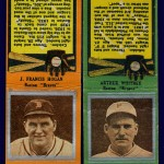 Boston Braves Matchbooks - 1930