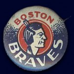 Boston Braves Pin - 1950