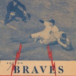 Boston Braves Program - 1944