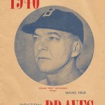 Boston Braves Program - 1946