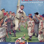 Boston Braves Program - 1952