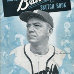 Boston Braves Sketch Book - 1946