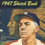 Boston Braves Sketch Book - 1947