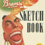 Boston Braves Sketch Book - 1950