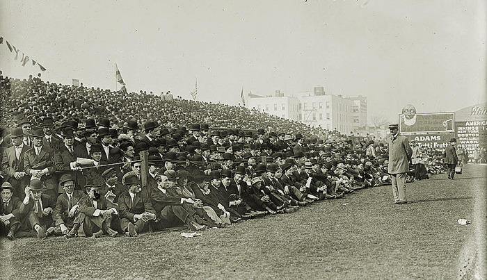 Boston Doves - 1910 Opening Day