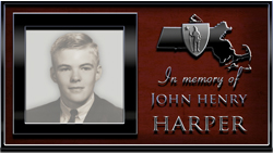 In Memory of John Harper