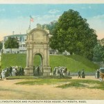 Plymouth Rock – Old Canopy – Looking Towards Cole's Hill 2