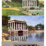 Plymouth Rock - New Portico - Looking From Shore and from Water