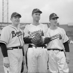Red Barrett, Johnny Sain & Warren Spahn