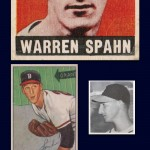 Warren Spahn Boston Braves Collage