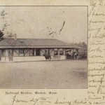 railroad station marion