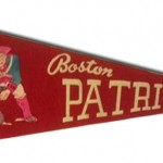 1960s - Boston Patriots Pennant