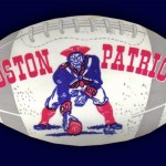 1961-64 - Boston Patriots Sticker