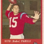 1963 - Boston Patriots - Babe Parilli