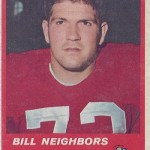 1963 - Boston Patriots - Bill Neighbors Football Card