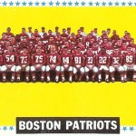 1964 - Boston Patriots - Team Picture Football Card