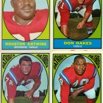 1967 - Boston Patriots - Football Cards & Sticker