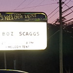 Cape Cod Melody Tent Sign with Boz Scaggs