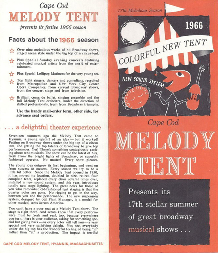 Cape Cod Melody Tent Sign with Boz Scaggs  sc 1 st  Massachusetts History & Cape Cod Melody Tent | Massachusetts History Preserved