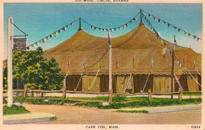 cape cod music tent