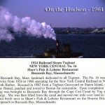On the Hudson - 1964