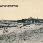 THE CEDARS & NEDS POINT Light,East Mattapoisett,Mass. 1920
