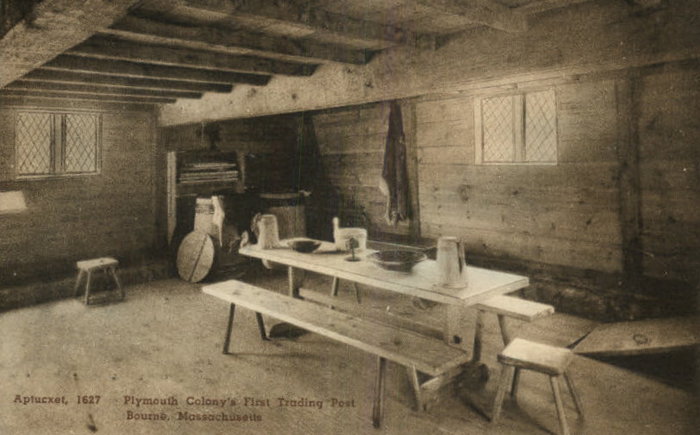 Aptucxet Trading Post Interior 1