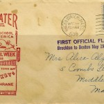FIRST OFFICIAL FLIGHT - Airmail - May 19, 1938