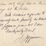 Joseph Jefferson 1901 Letter from Buzzards Bay 2