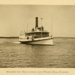 Steamer Gay Head Coming Into Woods Hole Harbor c. 1896