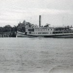 "WOODS HOLE MA 1905 – STEAMER ""GAY HEAD"""